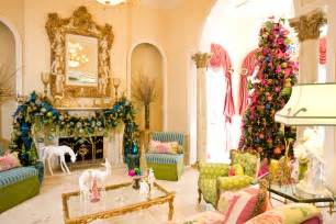 interior design christmas decorating for your home add zing with pink green and blue christmas d 233 cor