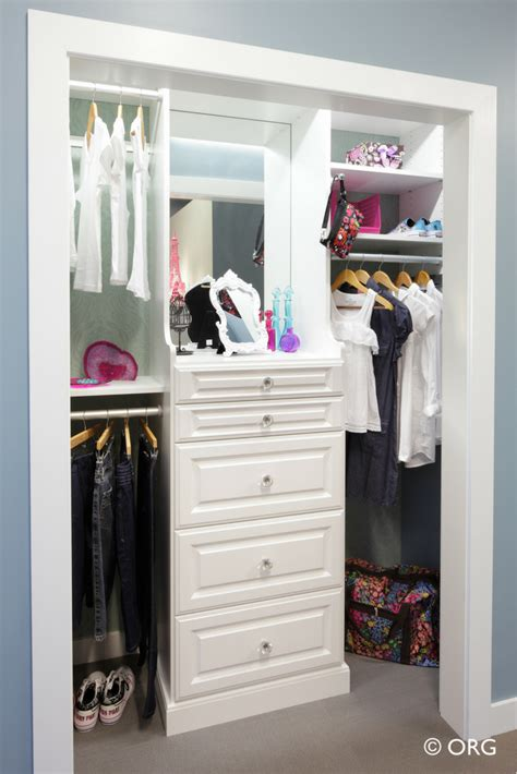 Closet Drawers System by How To Design A Safe Bedroom Closet Organizer