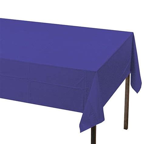 Paper Table Covers by New Purple Paper Table Cover Shindigz