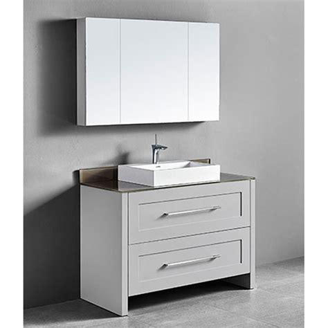 retro bathroom vanity madeli retro 48 quot single bathroom vanity for glass counter