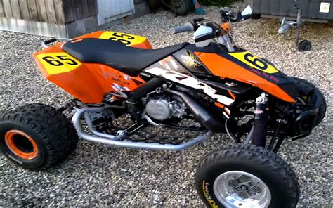 Ktm 380sx Machines Ktm 380sx 2 Stroke Atv Atvconnection