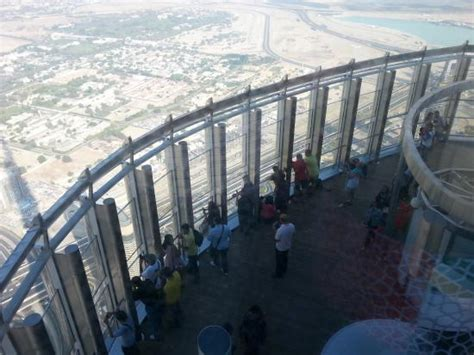 How Many Floors In Burj Khalifa by View From The 125th Floor Picture Of Burj Khalifa