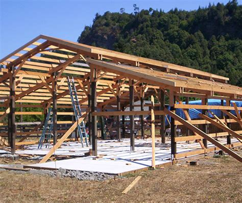 Insulation For Pole Barns Pole Building Brad Ashby Construction Coos Bay Oregon