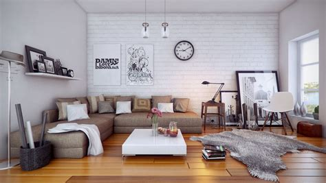 home living space interior designs cozy and artistic home design for