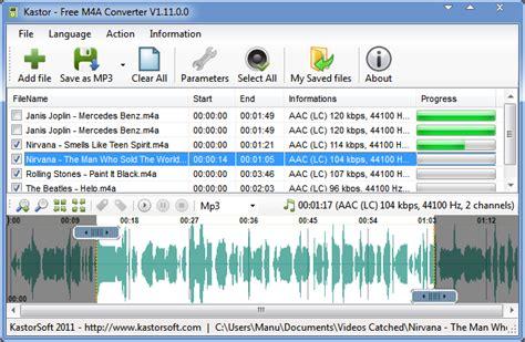 format m4a adalah full download kastor free m4a converter 1 11