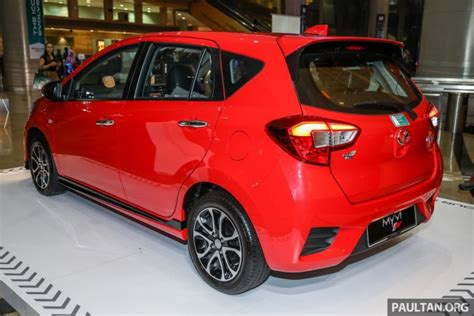 Viva Merah 1 2018 perodua myvi officially launched in malaysia now with details and pics priced from