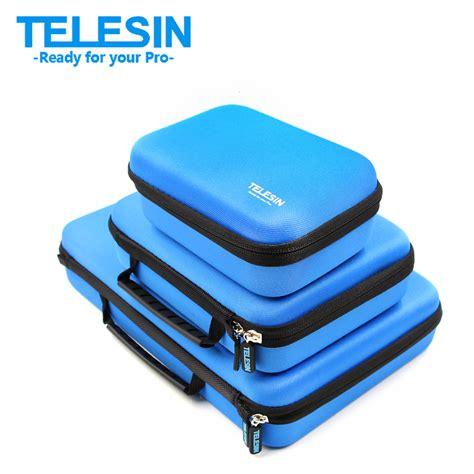 Telesin Waist Bag For Gopro Sj telesin gopro storage bag set carry protective