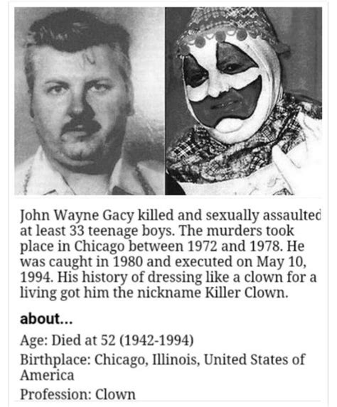 serial killer true crime library serial killers by name 193 best images about john wayne gacy on pinterest