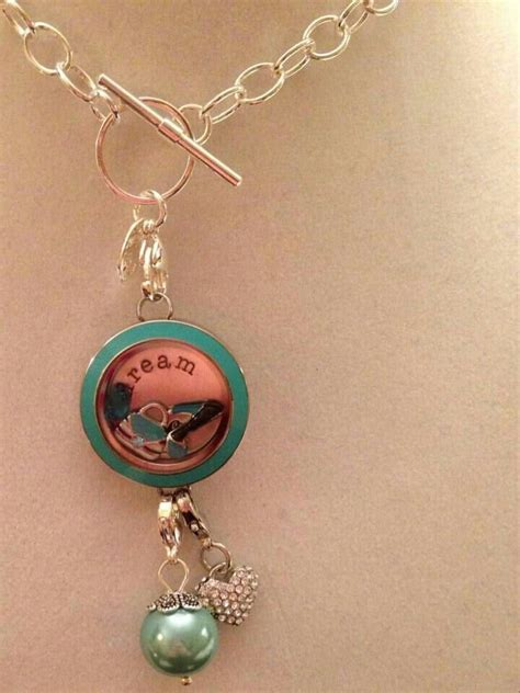 Origami Owl Locket Necklace - link locket worn as necklace origami owl ideas