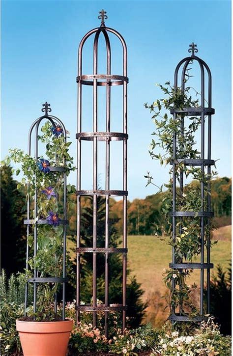 outdoor decor garden obelisk traditional outdoor decor by plow hearth