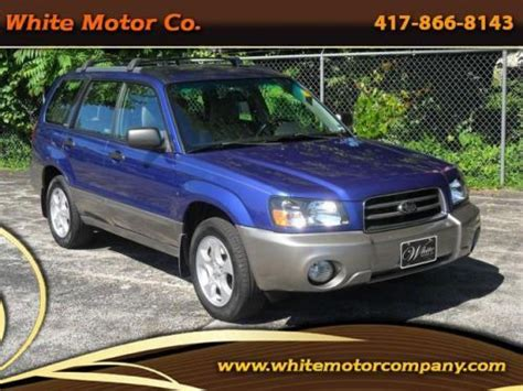 2004 Subaru Forester 2 5 Xs by Purchase Used 2004 Subaru Forester 2 5 Xs In 835 E Kearney