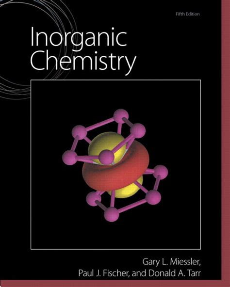 miessler fischer tarr inorganic chemistry 5th edition pearson