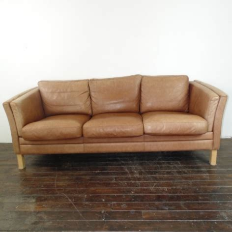 light brown leather sofa mogensen style 3 seater light brown leather sofa by