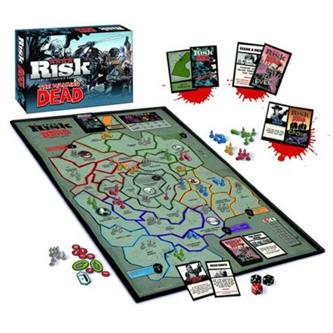 printable risk board game cards the walking dead comic survival edition risk board game