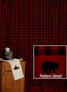 Curtain pinecone medley shower curtain adirondack shower curtain