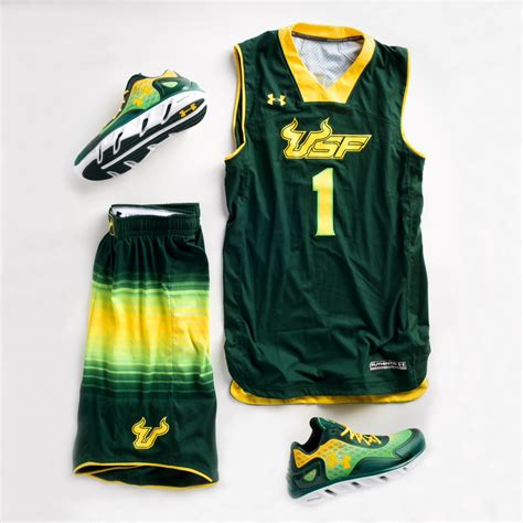 design jersey under armour usf s quot so flo quot under armour uniform spine bionic pes