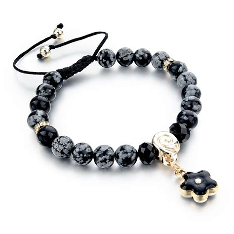 black bead bracelet mens aliexpress buy 2015 black bead bracelet mens jewelry