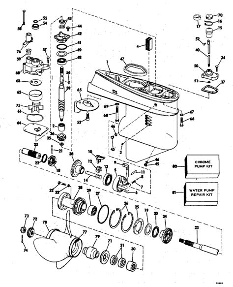 evinrude outboard parts diagram 55 hp johnson diagram 55 free engine image for user