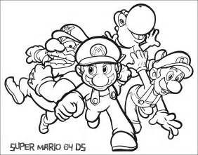 mario yoshi coloring pages images amp pictures becuo