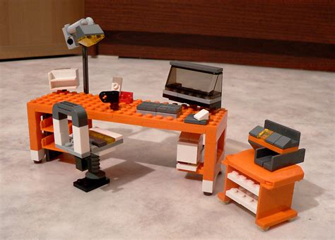 lego office lego 7991 alternate moc office desk a photo on flickriver