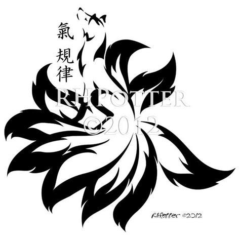 9 tailed fox tattoo spirit kyuubi by rhpotter on deviantart ideas