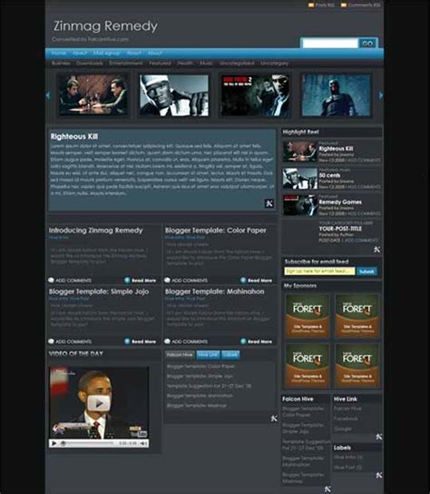 themes blogspot premium 50 free and high quality blogger themes with professional
