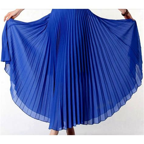 anasunmoon bohemian pleated maxi skirts womens