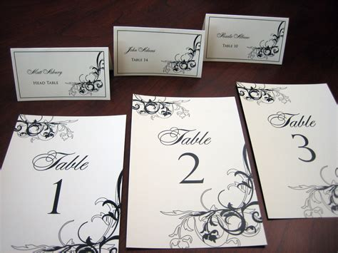 wedding table number cards table number cards a vibrant wedding