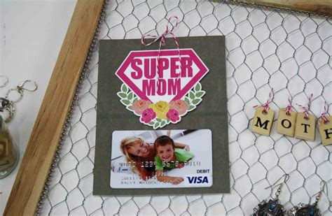Gift Cards For Girlfriend - free printable mother s day gift card holder for supermom gcg