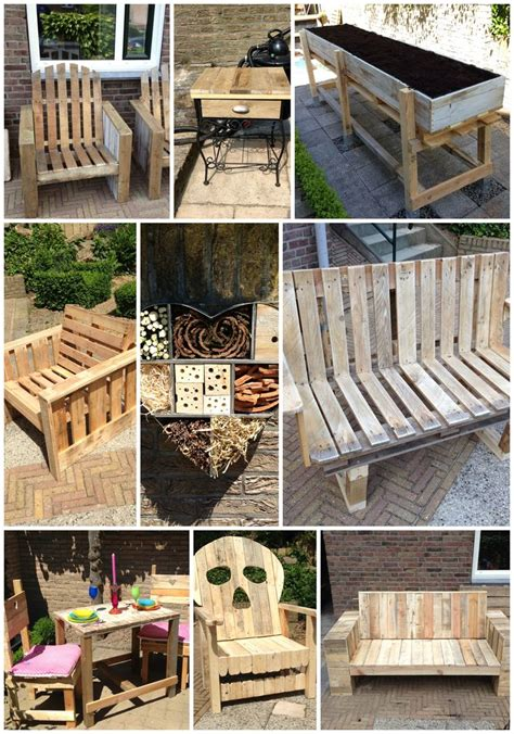 all things pallets i made furniture pinterest
