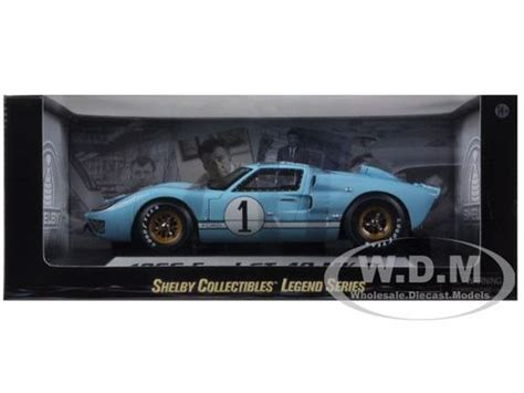 Termurah Die Cast Metal New Mk 3 Yellow Kuning 1966 ford gt 40 mk 2 blue 1 1 18 diecast model car shelby collectibles 411