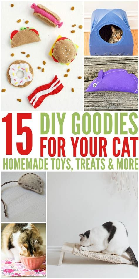 Diy Cat Toys From Marmalade by 15 Diy Goodies For Your Cats Things To Make