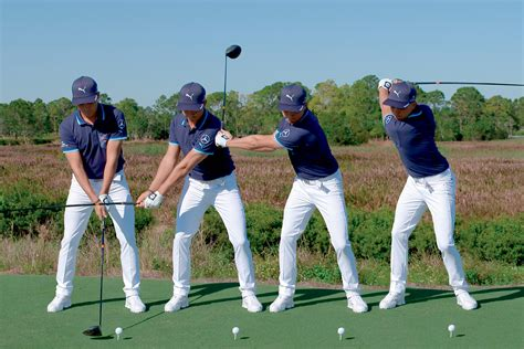 new golf swing swing sequence rickie fowler new zealand golf digest