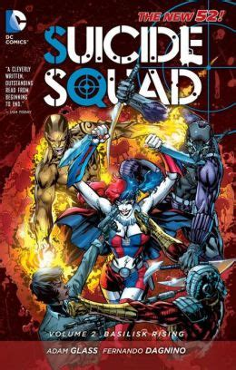 Squad Tp Vol 2 Basilisk Rising Isbn 9781401238445 squad vol 2 basilisk rising the new 52 by adam glass 9781401238445 paperback