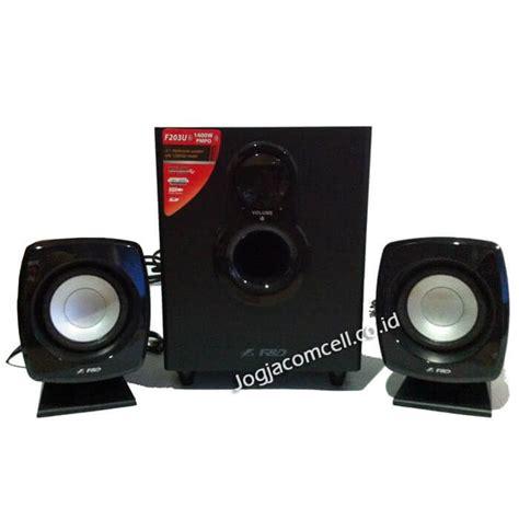 jual speaker komputer fenda f d f203u jogjacomcel co id
