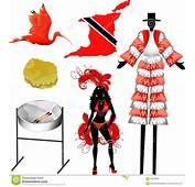 Trinidad And Tobago Icons Royalty Free Stock Image