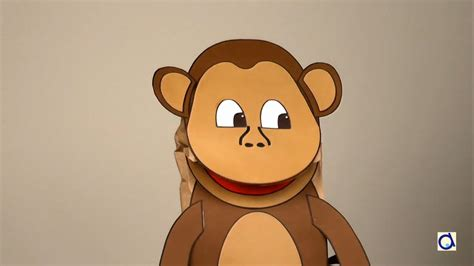 How To Make A Monkey Out Of Paper - fabriquer une marionnette singe en papier