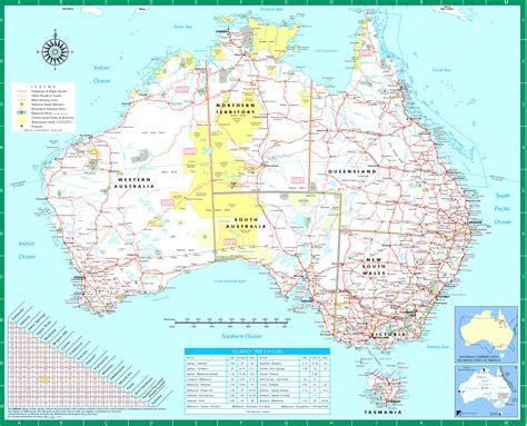 australia global map australia road map road map of australia australian road map