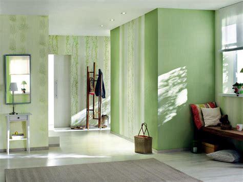 Entrance Hall Ideas green tones with subtle patterns interior design ideas