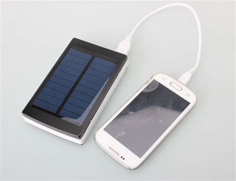 One Charging And Backup File 10000mah 2 usb solar panel charger power bank external
