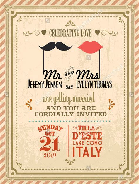 classic wedding card template 21 simple wedding invitation templates free premium