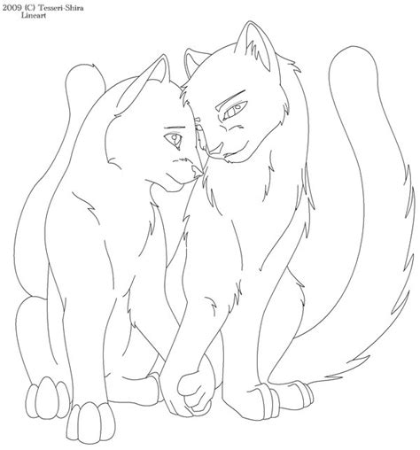 warrior cats coloring pages image search results