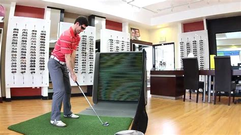 practice golf swing indoors an indoor golf hitting practice net swingbox
