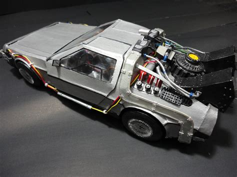 Realistic Papercraft - delorean dmc 12 bttf realistic papercraft by brspidey on