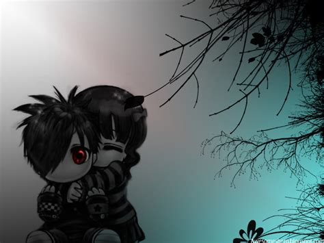 download wallpaper emo cartoon emo wallpapers free download awesome wallpapers