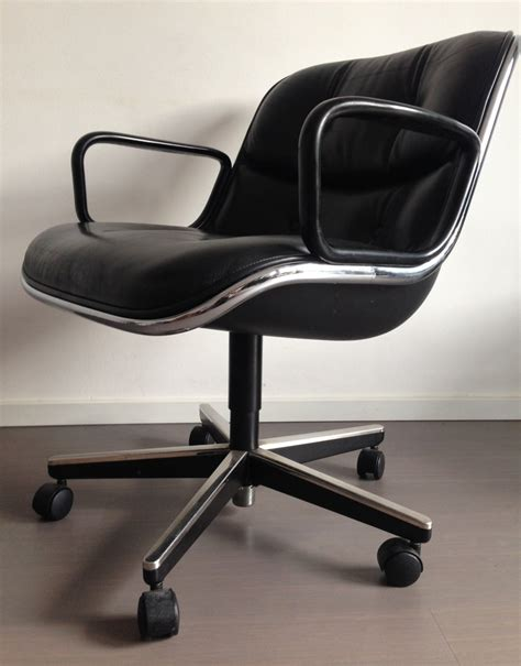 knoll pollock chair 2 x office chair by charles pollock for knoll 1960s 58471