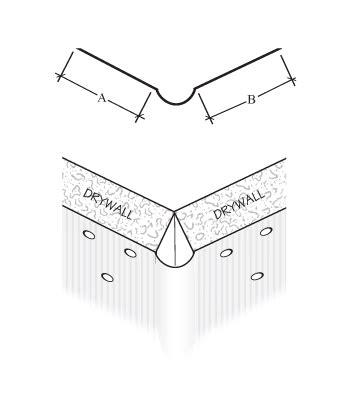 135 degree corner bead plastic cornerbead clinch on cornerbead company