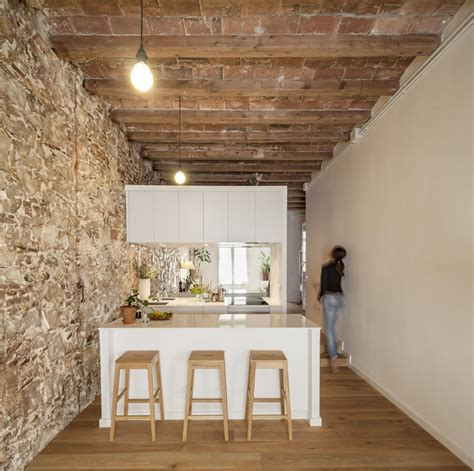 design apartment les corts tripadvisor newly renovated minimalist apartment with stone wall and