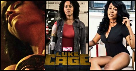simone missick hot  steamy pictures  misty knight