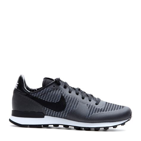 nike sneakers nike internationalist jacquard sneakers in black lyst